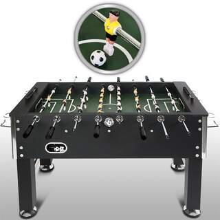 Fodboldbord, sort m. 4 bolde